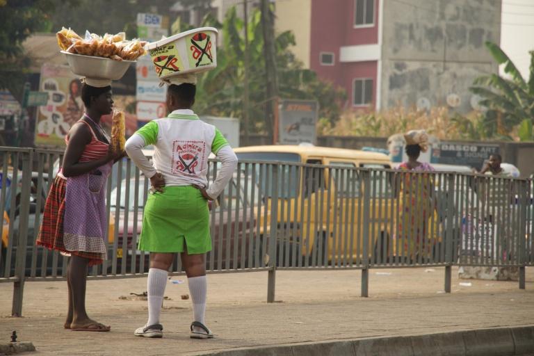 Street Vendors, Kumasi