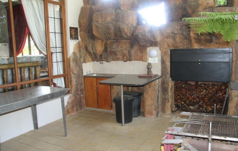 Perhaps the most important part of any South African home: the braai